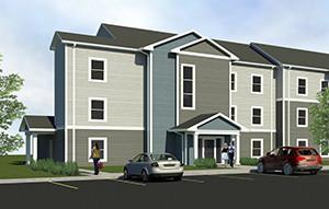 Auburn Ridge Watford City exterior rendering