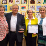 Peter & Marilyn Hegg Receive LifeSource Community Partner of the Year Award