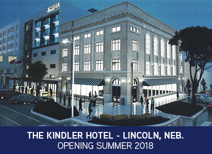 The Kindler Hotel - Lincoln, Nebraska